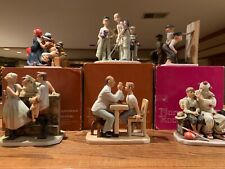6 Pieces Norman Rockwell Figurines Collection all mint w Box! Best Value on Ebay