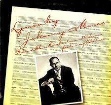 JAZZ LP LYRICS BY JOHNNY MERCER ROLAND SHANE ORCHESTRA AND CHORUS