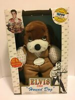 Elvis Presley Sings Hound Dog Collector Series Bear 8118 Taipow Legends (1994)