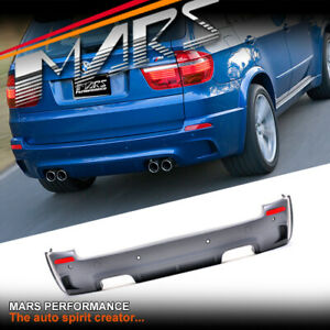 X5M Style Twin exhaust Outlet Rear Bumper Bar & Wheel Arch for BMW X5 E70 07-13