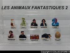 SERIE COMPLETE DE FEVES  LES ANIMAUX FANTASTIQUES 2   2019