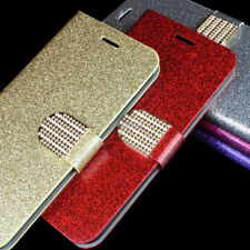For Apple iPhone 6S Plus/6 Plus Magnetic Bling Pu Leather Wallet Pouch Case
