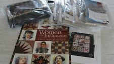 WOMEN OF INFLUENCE Block of the Month Quilt Kit Civil War Fabrics 65x82""