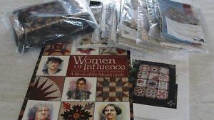 "WOMEN OF INFLUENCE Block of the Month Quilt Kit Civil War Fabrics 65x82"""