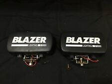Blazer Rectangular Off-Road Driving Lights with Rock Guard Cover FREE SHIPPING