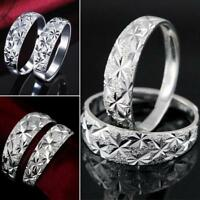 Hot Party Women Ladies Ring Adjustable Wedding Silver Plated