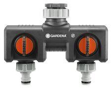 Gardena 8193-20 2-Wege-Verteiler Blitzversand per DHL-Paket