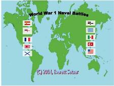 World War 1 Naval Battles – CD Version - Print your own Game !