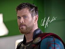 Chris Hemsworth SIGNED PHOTO AVENGERS Infinity War THOR RAGNAROK AUTO *LAST ONE*