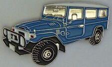 Toyota Landcruiser FJ78-HJ78 LBW Troop Carrier  hat pin badge  C041207-- Blue --