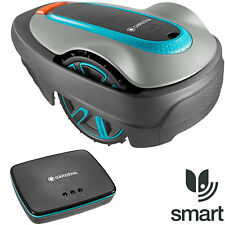 Gardena Sileno City 500 Smart Set Rasenroboter + Gateway Mähroboter Rasenmäher