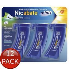 Nicabate Minis 4mg Mint - 60 lozenges - Stop smoking aid