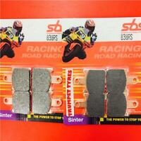 Kawasaki ZX-6R 600 Ninja 07 > 08 Front Race Sinter Brake Pads SBS 838RS