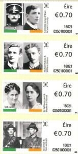 An Post Irish Post Office 1916  Easter Rising Commemoration Irish Postage Stamps