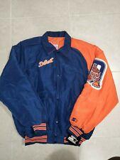 NWT VTG 90s Detroit Tigers Starter Jacket Diamond Collection Big Logo Sz M