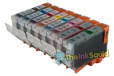 8 x Chipped Compatible CLI-8 Ink Cartridges for Canon Pixma PRO 9000 Mk II