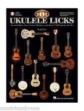 Ukulele 101 LICKS Music Book Learn To Play BEGINNER EASY CHORDS LESSON TUTOR HIT