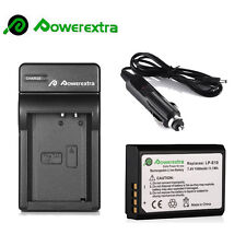 1500mAh LP-E10 Battery + Charger For Canon EOS Rebel T3 T5 1100D 1200D Kiss X50