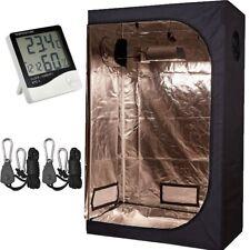 "TopoLite 48""x24""x72"" Grow Tent+1 Pair Light Hangers+1 Pcs Hygrometer Thermometer"
