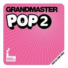 Mastermix Grandmaster POP 2 Chart Music Continuous Megamix DJ CD * CLEARANCE *