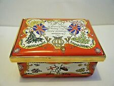 Halcyon Days Queen Elizabeth Diamond Jubilee Lim Ed. Red Royal Cypher Box