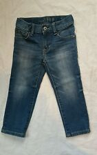 BabyGap 1969 Authentic Skinny Blue Jeans/Age 2 years Adjustable Waist