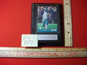1993 DAN MARINO MIAMI DOLPHINS QUARTERBACK PRO SET #250 LIMITED EDITION PLAQUE