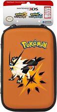 HORI Pokemon Ultra Sun & Ultra Moon Hard Pouch Case New Nintendo 3DS XL & 2DS XL