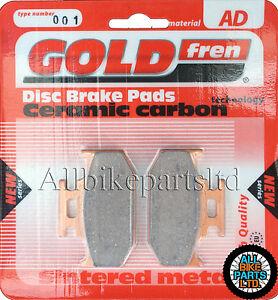 For SUZUKI TS 200 R (1990-ONWARDS) SINTERED REAR BRAKE PADS GOLDFREN TS200
