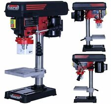 Lumberjack Bench Top 5 Speed Pillar Drill Press & Table Stand 13mm Chuck 240v