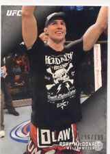 2015 TOPPS UFC KNOCKOUT SILVER PARALLEL  #/199 RORY MacDONALD #59