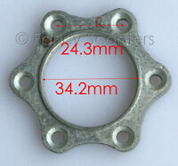 RIGHT SIDE BRAKE DISC ROTOR ADAPTER FOR POCKET BIKE,GAS SCOOTER APC CHOPPERS