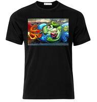 Graffiti Shirt XVIII - Graphic Cotton T Shirt Short & Long Sleeve