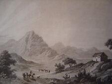 Brasil Brésil Stambel gravure sur acier de 1838