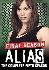 Alias - The Complete Fifth Season (DVD, 2006, 4-Disc Set)