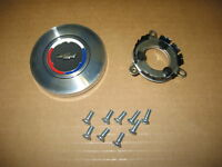 66 Chevelle and El Camino Wood Wheel Horn Cap Kit. Cap, Contact and Screws