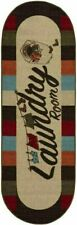 Ottomanson Washtown Collection 20x59in Oval Runner Rug - Multicolor (LA4019O-2X5)