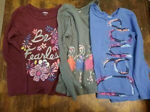 Girls 5/6 Gymboree Long Sleeve Shirt Lot