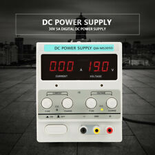 Labornetzgerät Labornetzteil DC Trafo Regelbar Netzgerät 0-30V 0-5A Power Supply