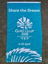 Gold Coast 2018 Commonwealth Games - Official Share The Dream Flag GC2018