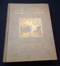 Arthur Rackham - Songe d'une nuit d'été - 1909 - 1ere édition française
