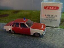1/87 Wiking Opel Rekord D Feuerwehr 0861 16 B