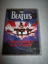 The Beatles: The First U.S. Visit (DVD, 2003, Amaray Case Booklet Included DVD