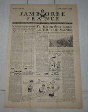 JOURNAL JAMBOREE FRANCE N°3 1947 MOISSON SCOUT SCOUTISME SCOUTS PIERRE JOUBERT