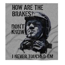 Hows...Steve McQueen Biker Motorcycle Cool  Classic Retro Print Grey T-shirt