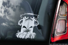 Sam the Eagle - Window Car Sticker -Muppet Show Fraggle Sesame Street Sign Decal