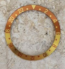 Rolex Insert Bezel Inlay for GMT  16713 rootbeer brown