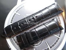 Vacheron Constantin 22mm Black Alligator Strap