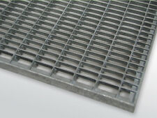 Gitterrost verzinkt ohne Zarge 40 x 60 cm Rahmenaußenmaß, Rost kleiner