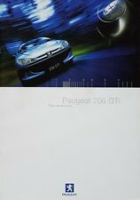Peugeot 206 GTi Sales Brochure - June 1999